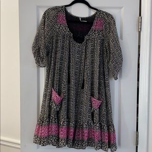Free people pattern dress tunic!